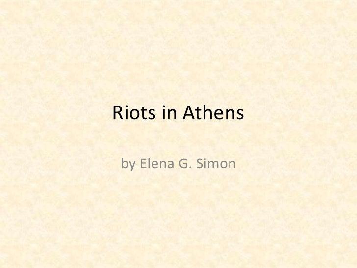Athens riots