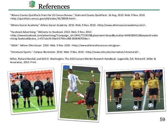 Soccer academy business plan