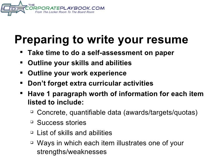 how to write assessment for college