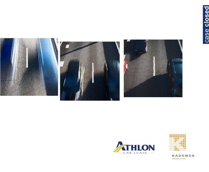Athlon Car Lease -  Case Closed Kadenza