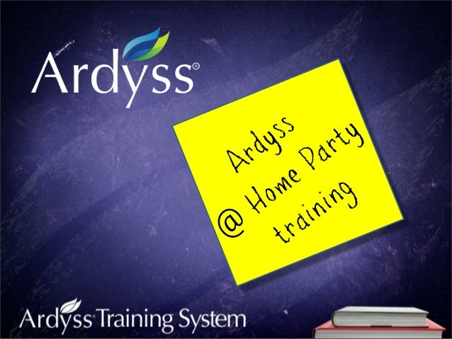 Ardyss@Home Partytraining