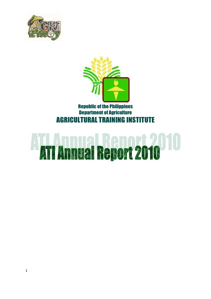 ATI 2010 annual report