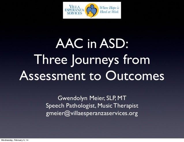 ATI 2014 Assessment to Outcomes G. Meier