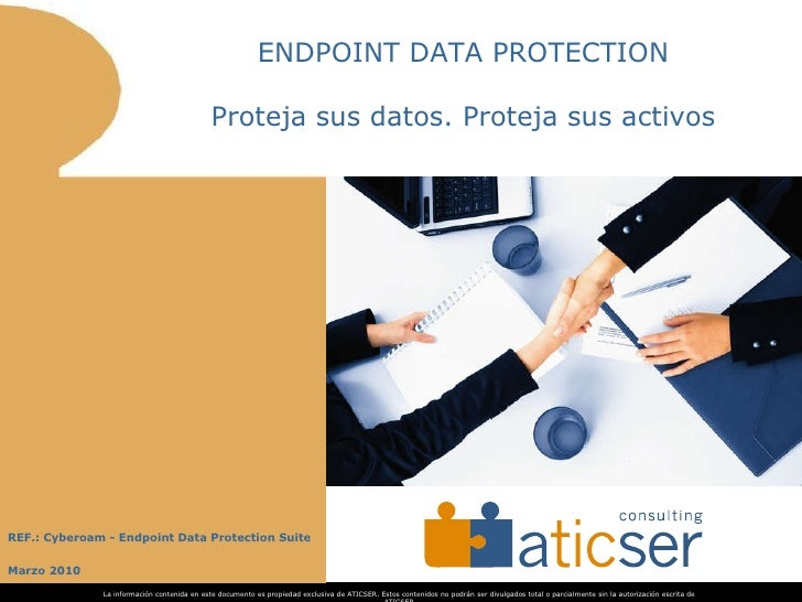 Cyberoam Endpoint Data Protection - aTICser