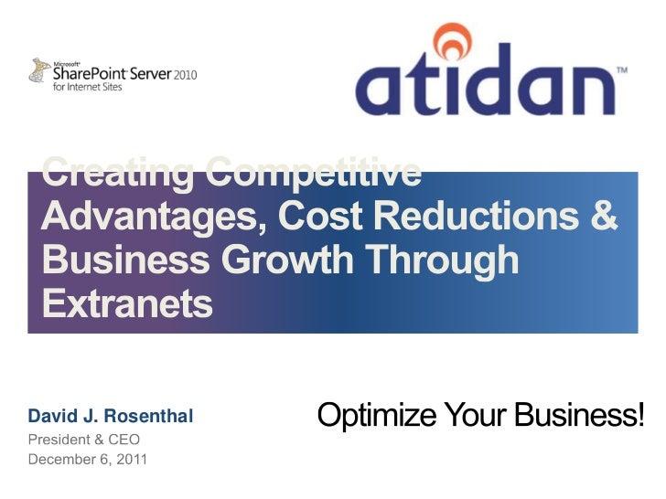 Atidan Extranet To Optomize Business Dec 6 2011.3
