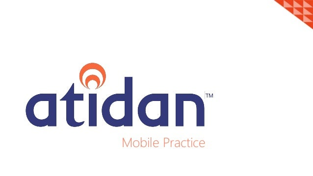 Atidan Mobile Application Development Practice