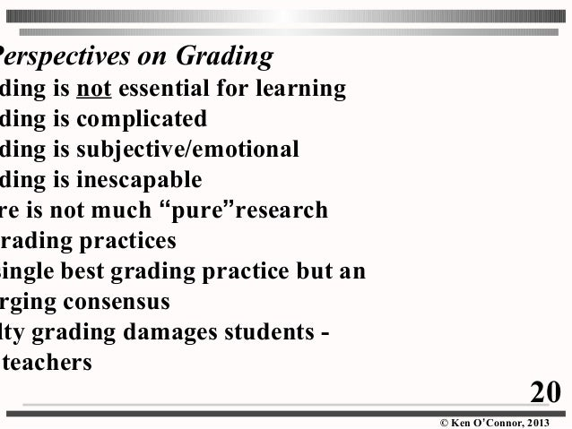Good Grades Not Equal Learning?