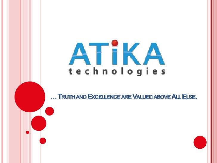 Atika Technologies Final Slide Show