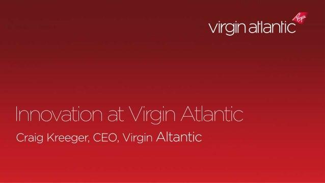 Virgin Atlantic as a Driver of Change