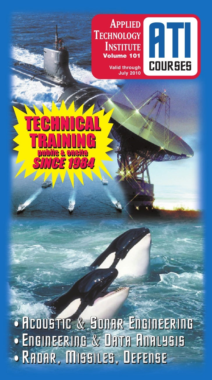 APPLIED                 TECHNOLOGY                   INSTITUTE                      Volume 101                       Valid...