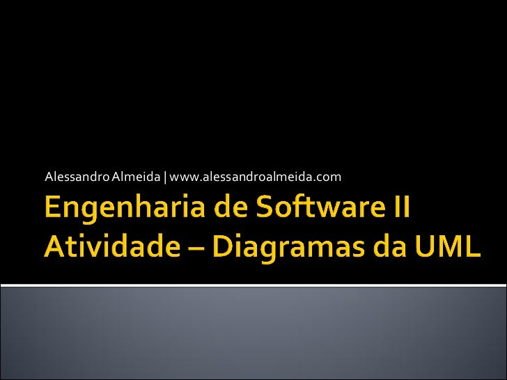Engenharia de Software II - Atividade: Diagramas da UML