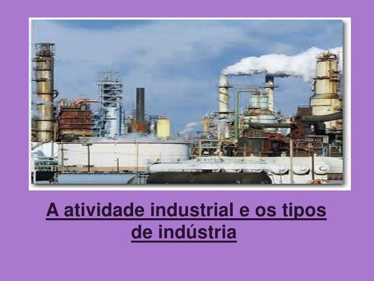 Atividade industrial for Consola de tipo industrial