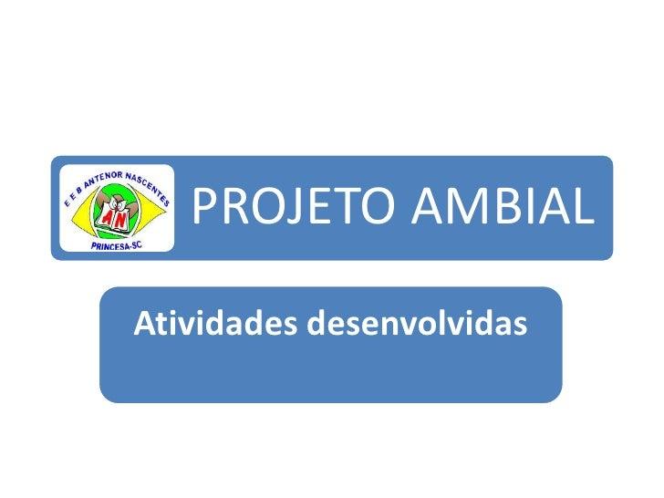 Projeto Ambial