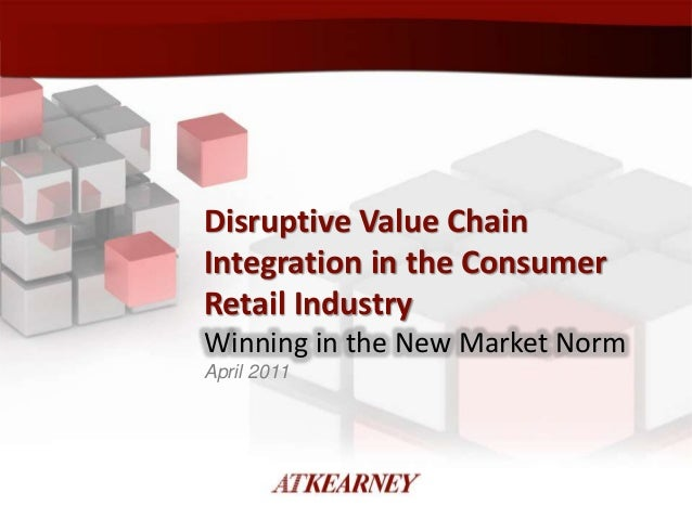 Disruptive Value Chain Integration in Consumer Product Industry