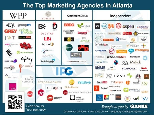 Most Notable Agencies in Atlanta: Q1 2013