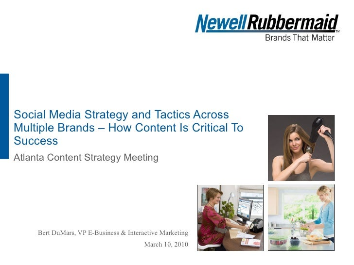 Social Media Strategy and Tactics Across Multiple Brands