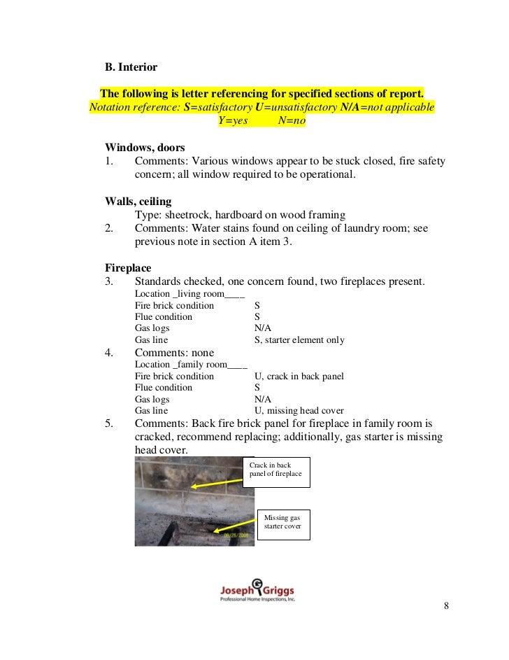 Atlanta Sample Home Inspection Report