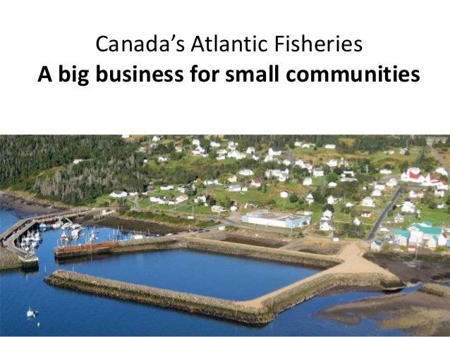 Canada's Atlantic Fisheries