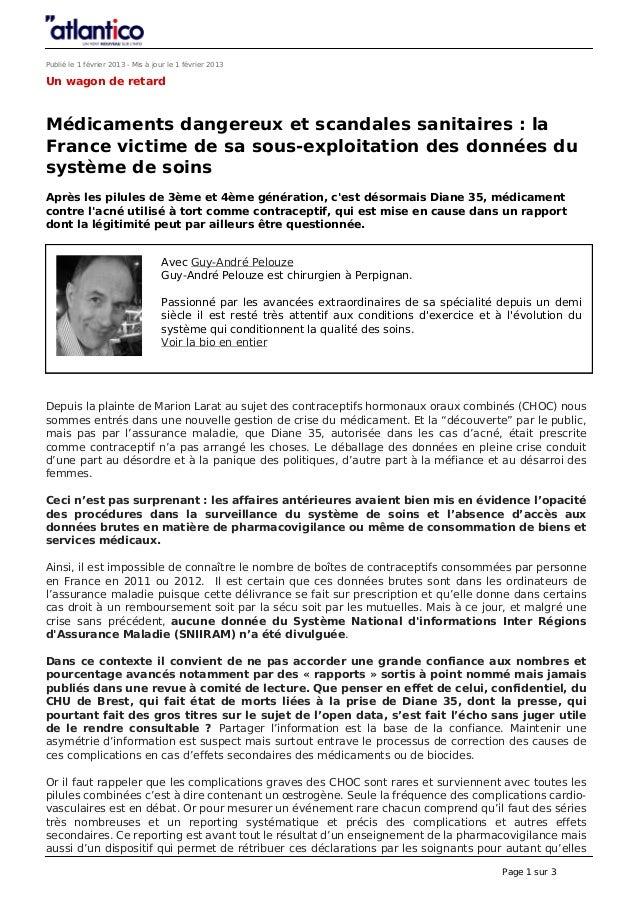 Publié le 1 février 2013 - Mis à jour le 1 février 2013Un wagon de retardMédicaments dangereux et scandales sanitaires : l...