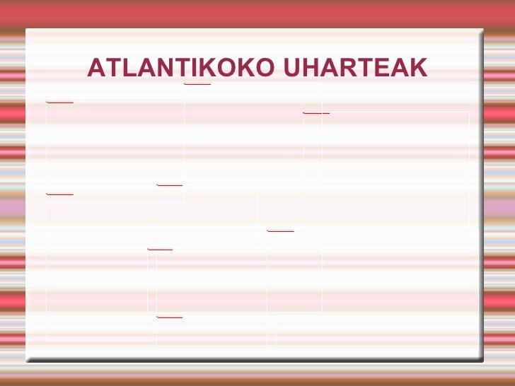 ATLANTIKOKO UHARTEAK
