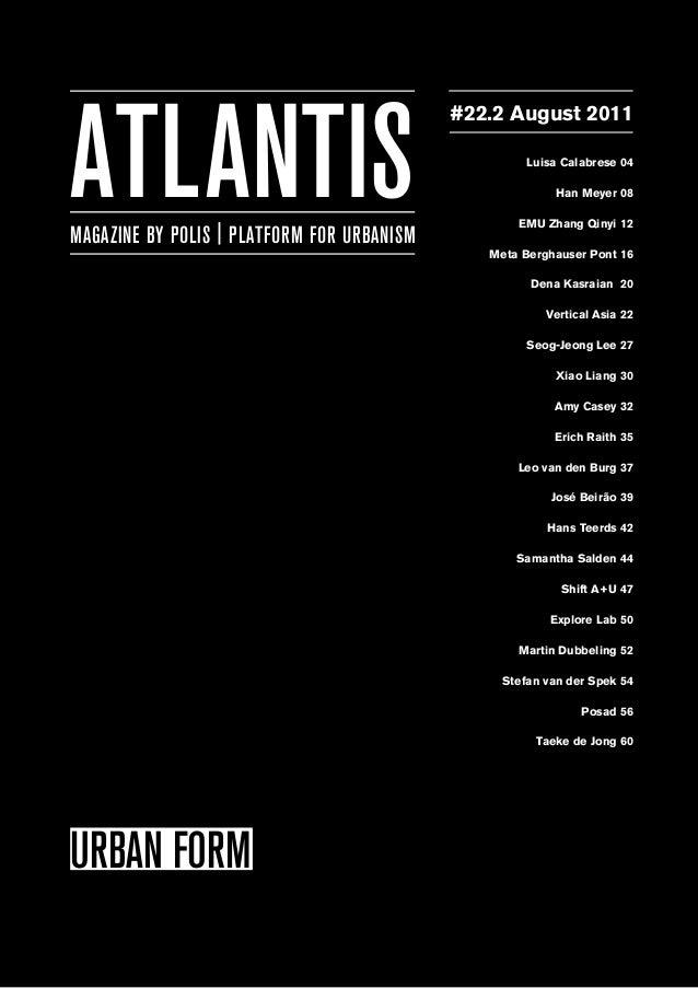 Atlantis 22.2 urban form