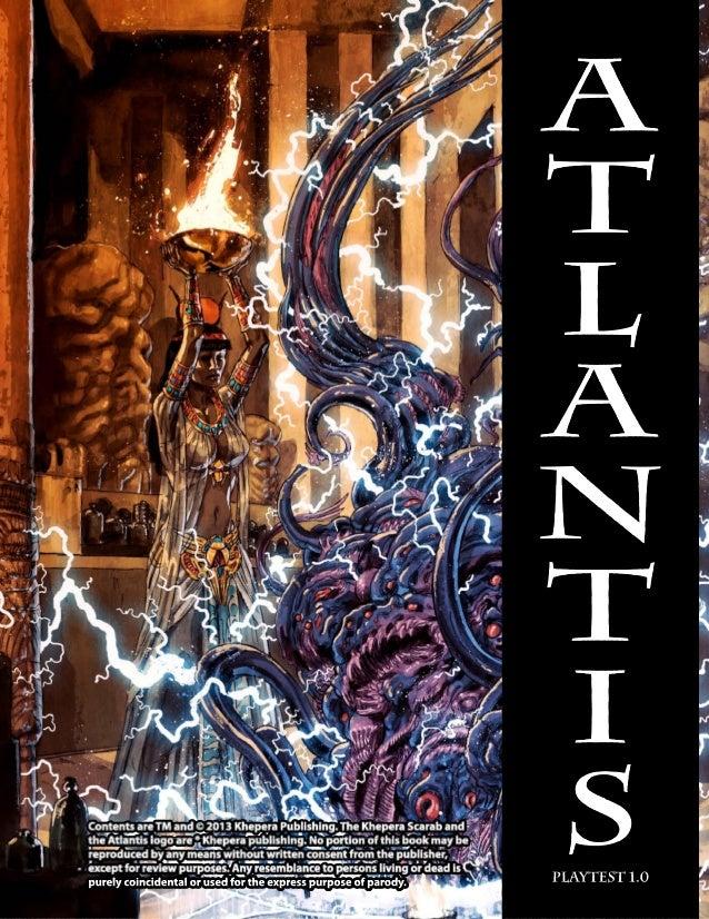 Atlantis playtest v1.0