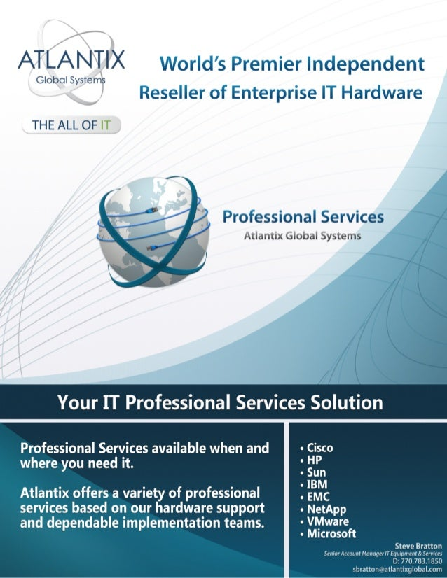 Atlantix Professional Services Available Worldwide