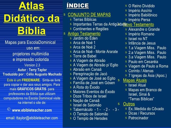 Atlas                                      ÍNDICE                              s O Reino Dividido                         ...