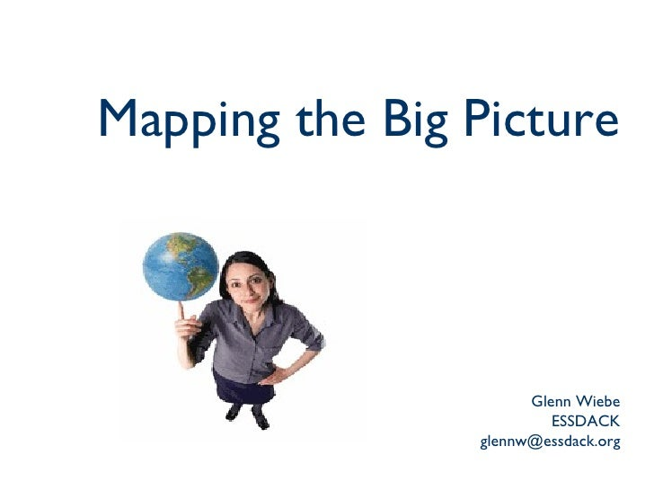 Mapping the Big Picture Glenn Wiebe ESSDACK [email_address]