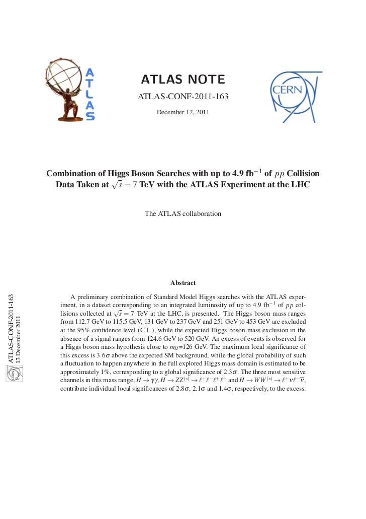 ATLAS NOTE                                                                         ATLAS-CONF-2011-163                    ...