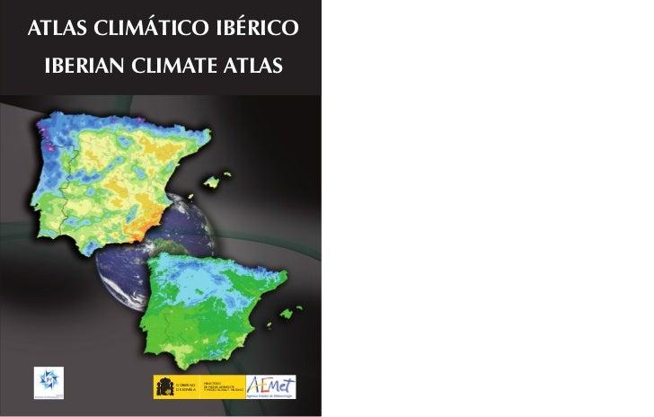 Atlas climático de la Península Ibérica.
