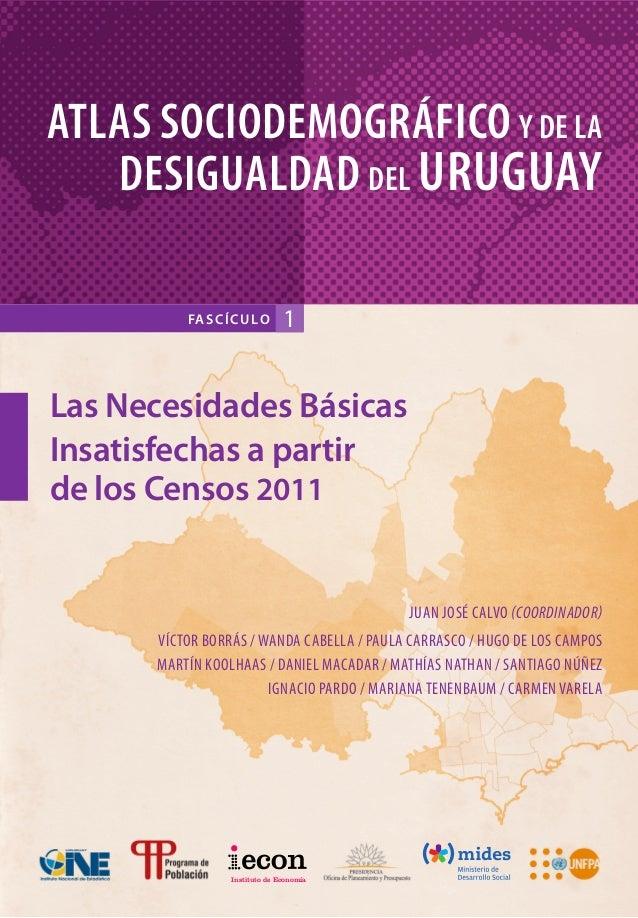 Atlas de la desigualdad en el uruguay