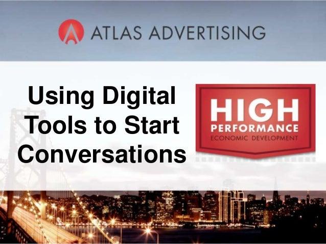 1 Using Digital Tools to Start Conversations