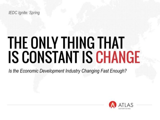 IEDC Atlas Ignite:  Change Is The Only Constant