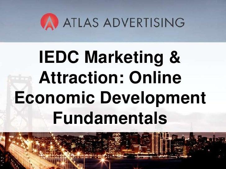Atlas IEDC Online Economic Development Fundamentals