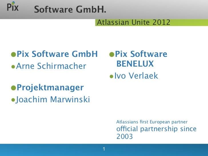 Atlassian Unite Sponsored Talk - Pix