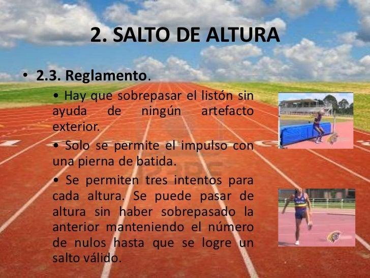 Atletismo II (Saltos)