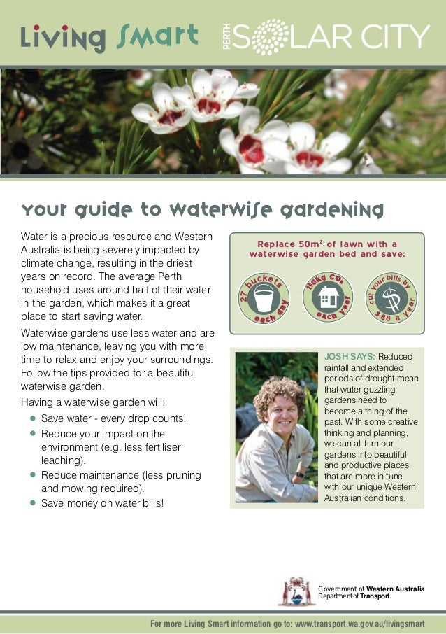 Your Guide to Waterwise Gardening - Perth, Australia