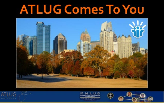 ATLUG Comes To You