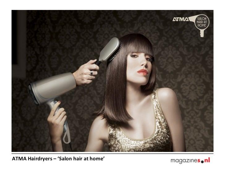 ATMA Hairdryers – 'Salon hair at home'