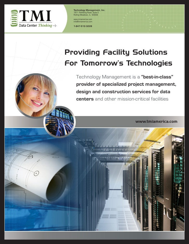 Technology Management, Inc.  1911 Rohlwing Road, Suite E  Rolling Meadows, IL 60008  www.tmiamerica.com  info@tmiamerica.c...