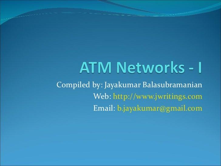 ATM Networks - Part I