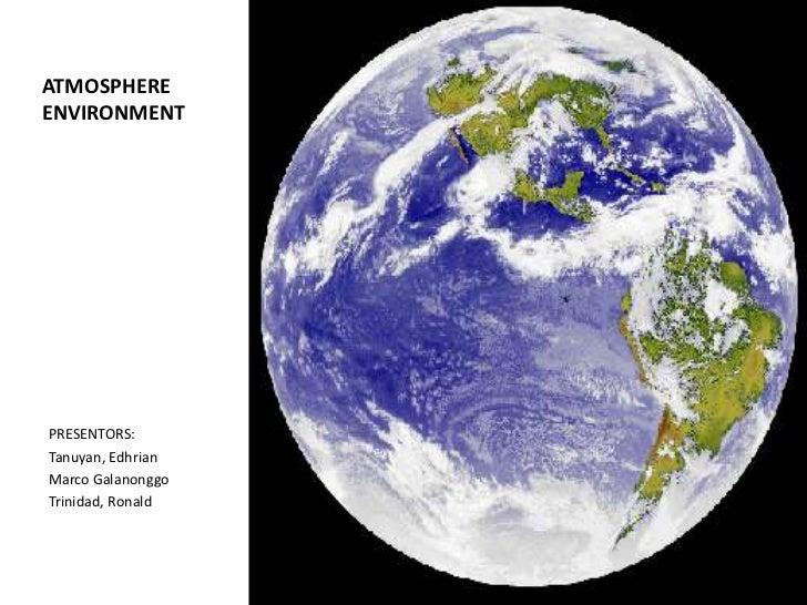 Atmosphere environment.envi sci