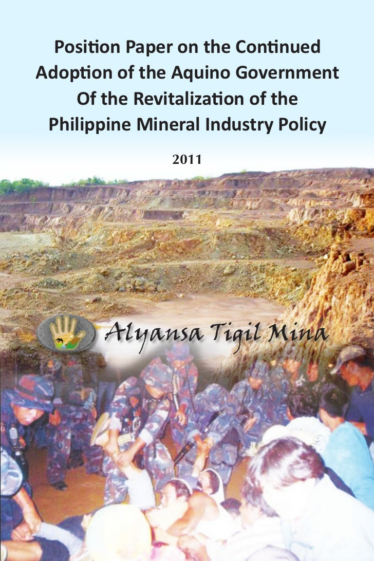 ATM Policy Paper on Mining in the Philippines