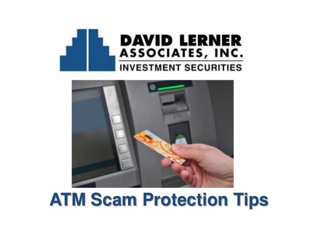 ATM Scam Protection Tips