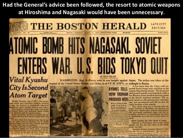 a history of decision of united states for dropping of atomic bomb on hiroshima and nagasaki in japa The united states dropped two atomic bombs on japan: hiroshima on aug 6, 1945 nagasaki an expanded understanding of atomic bomb history that.