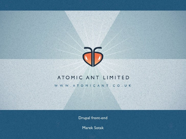 Atomicant Drupal 6 Theming