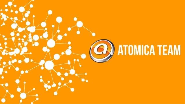 Atomica Team, Presentacion de Productos y Servicios