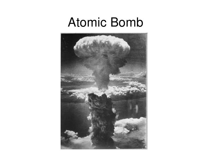 an overview of the atomic bomb use during the world war two The decision to use nuclear weapons is widely debated why exactly did the united states deploy an atomic bomb the fierce resistance that the japanese forces mounted during their early campaigns led american planners to believe that any invasion of the japanese home islands would be exceedingly bloody.