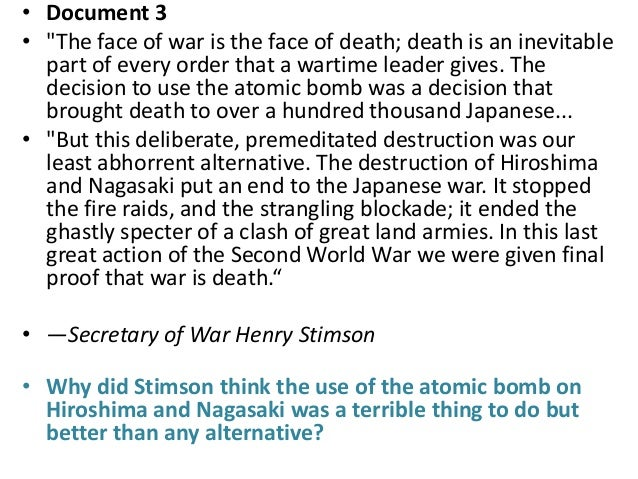 dbq atomic bomb essay Enjoy proficient essay writing and custom writing services apush dbq essay bomb atomic provided by professional academic writers search the world's information.